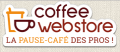 Code promo et bon de réduction Coffee Webstore  : Code promo Coffee Webstore : 10€ de réduction