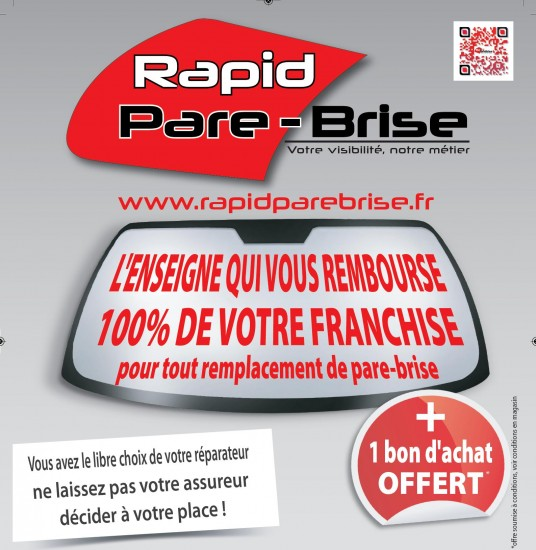 codes promo rapid pare brise brest 219 route de gouesnou bon promo sur. Black Bedroom Furniture Sets. Home Design Ideas