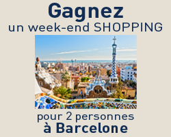 coupons de réduction GAGNEZ 1 WEEK-END SHOPPING POUR 2 A BARCELONE !