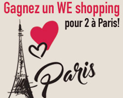 coupons de réduction GAGNEZ 1 WEEK-END SHOPPING POUR 2 A PARIS !