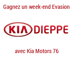 coupons de réduction Kia Motors 76 - Dieppe - Gagnez un week-end évasion !